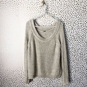 77fa850d2a72 Free People Sweaters - Free People Knit Scoop Neck Sweater